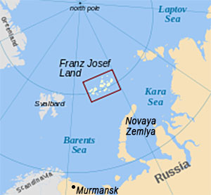 Expedition to Franz Josef Land  Arctic Russia
