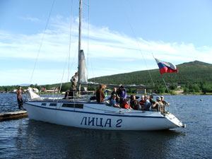 kola peninsula, monchegorsk, imandra lake, yachting, yachting tour, sailing, russia, kola travel