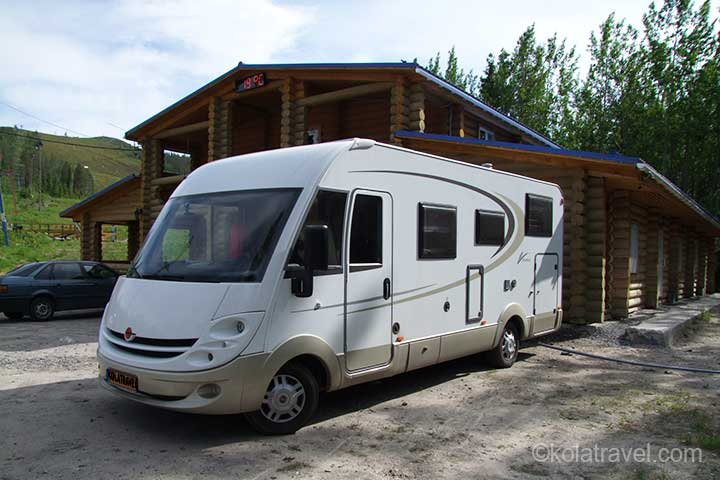 holiday route tour camper campers caravan caravanning camping campings northwest russia karelia kola peninsula murmansk region russian lapland
