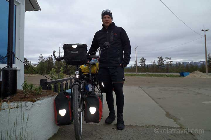 Leo Plank on his long distance cycle tour from Saint Petersburg to Murmansk in Northwest Russia
