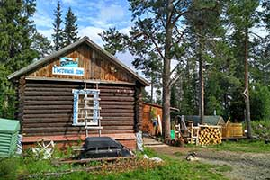 guesthouse, oktyabrsky, kirovsk, khibiny mountains, stalin camps, stalinist, gulag, camp, umba river, murmansk region, kola peninsula, kola travel